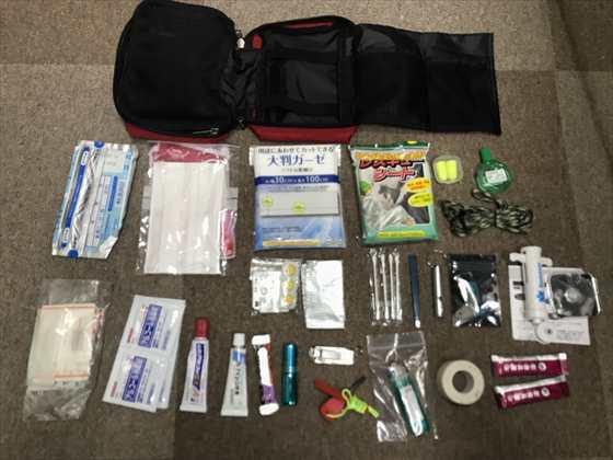 「非常用持ち出し袋」に入れておくべき実用的な『救急セット』の作り方と内容リスト
